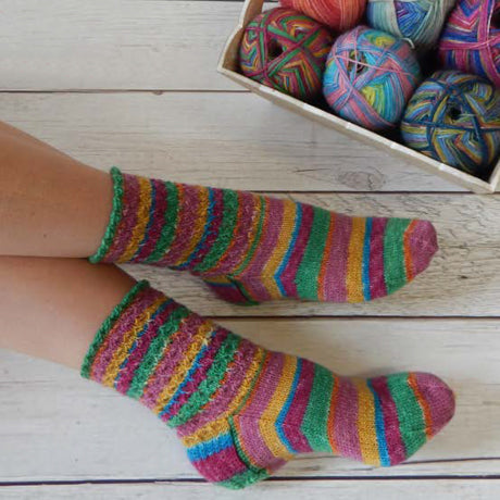 Head Over Heels Sock Pattern