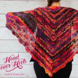 Head Over Heels Plume Shawl Pattern