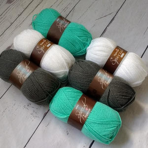 Stylecraft Special DK - Aspen and Grey  Yarn Pack