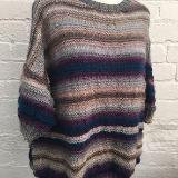 Boho Spirit Chic Slouchy Sweater knitting pattern