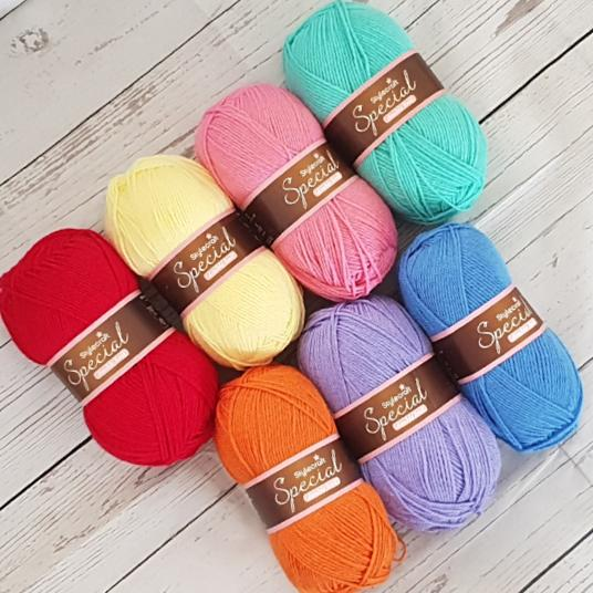 Stylecraft special rainbow yarn pack