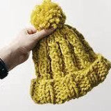 Cygnet Yarns Seriously Chunky Ribby Cable Hat