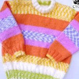 cygnet yarns babycakes round neck sweater free pattern