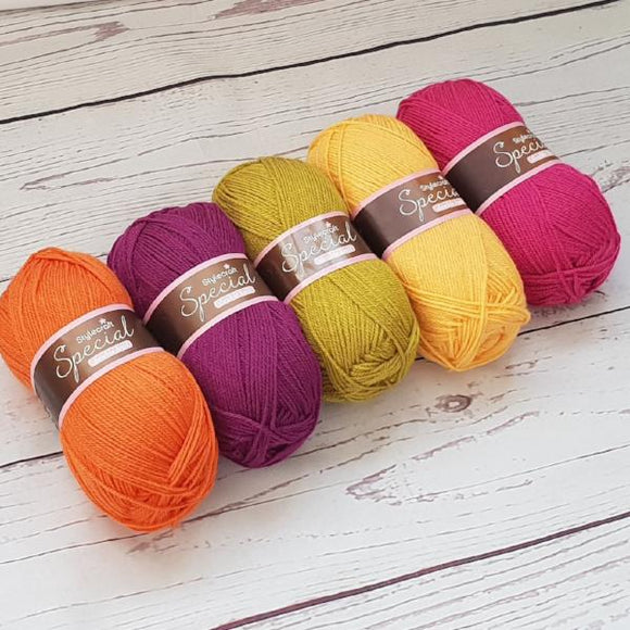 Stylecraft special dk summer fruits yarn pack