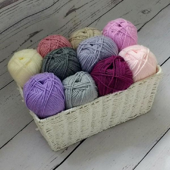 Stylecraft Special DK - Shades of Purple yarn pack