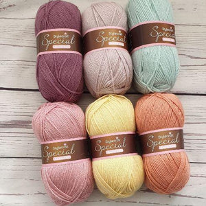 Stylecraft special dk - muted tones yarns pack