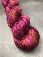 Moody Ruby (Discontinued Version) Merino Silk 4Ply