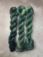 OOAK Dark Green Highland DK 20g Mini