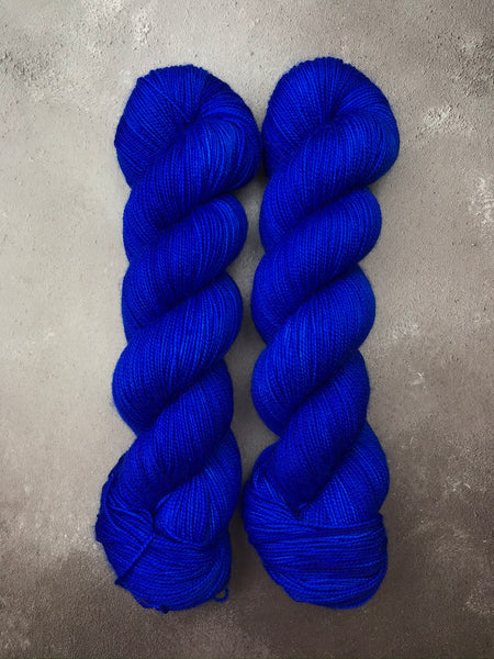 Lapis Merino Twist Sock