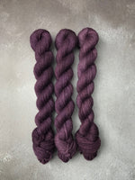 Aubergine Highland 4Ply 20g Mini