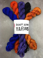OOAK Orange Mix Mini Set BFL Sock