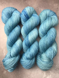 OOAK Light Aqua Blue Highland 4Ply 100g