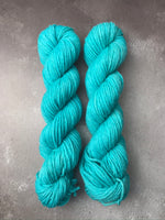 OOAK Turquoise Highland 4Ply 50g