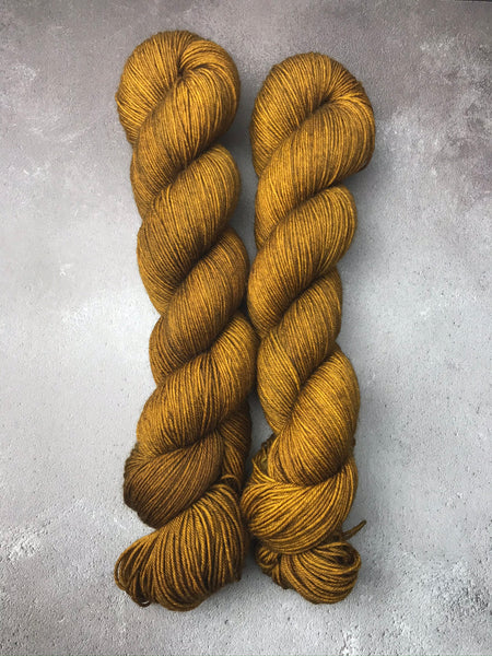 Cinder Toffee Merino Smooth Sock