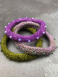Vervain - Knit Your Own Crystal & Yarn Bangles Kit