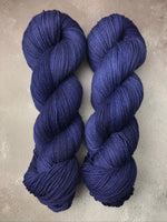 Navy Highland 4ply 100g