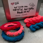Summer - Knit Your Own Crystal & Yarn Bangles Kit