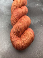 Copper Corriedale Sock