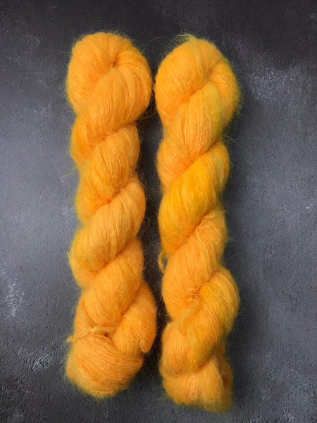 Hello Sunshine Brushed Baby Suri Silk Lace
