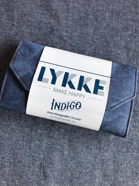 "Lykke Indigo  3.5"" Interchangeable Needle Set"