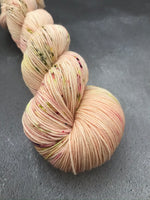 Atomic Peach Merino Smooth Sock