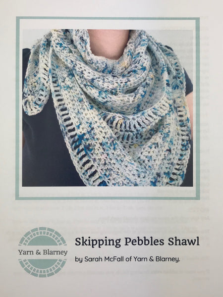 Skipping Pebbles Shawl  - Yarn & Blarney