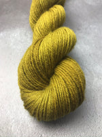 OOAK Olive Green Highland 4Ply 50g