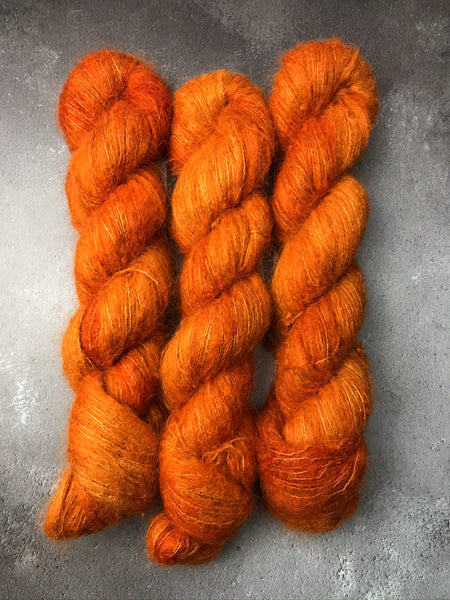 Marmalade Brushed Baby Suri Silk Lace