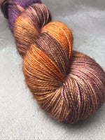 Foxy Bronze Sparkle Sock