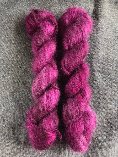 Oddball #100 Kid Silk Mohair Purple