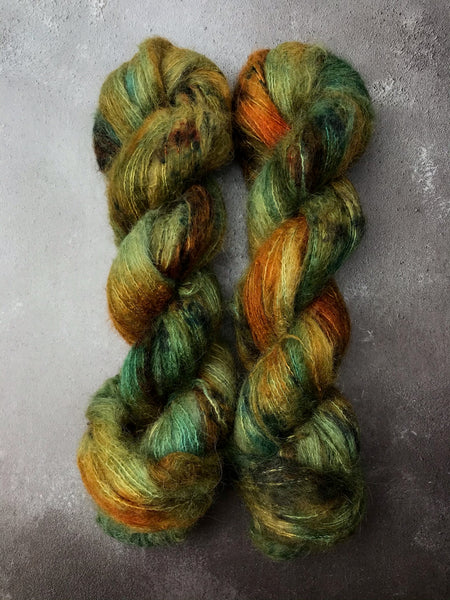 Samhain Brushed Baby Suri Silk Lace
