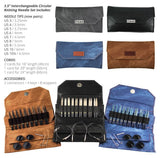 "Lykke Umber 3.5"" Interchangeable Needle Set"