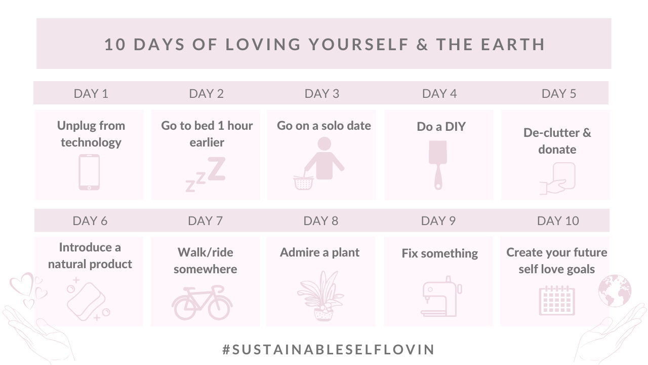 Go for Zero Australia 10 days of loving yourself and the earth challenge