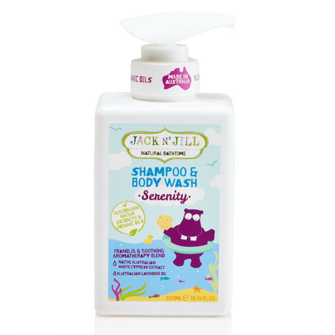 Jack n Jill Serenity Hippo Shampoo and Wash