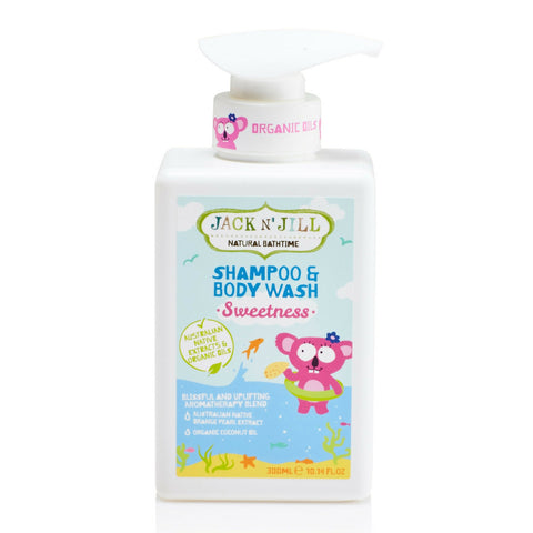 Jack n Jill Koala Sweetness Shampoo and Wash