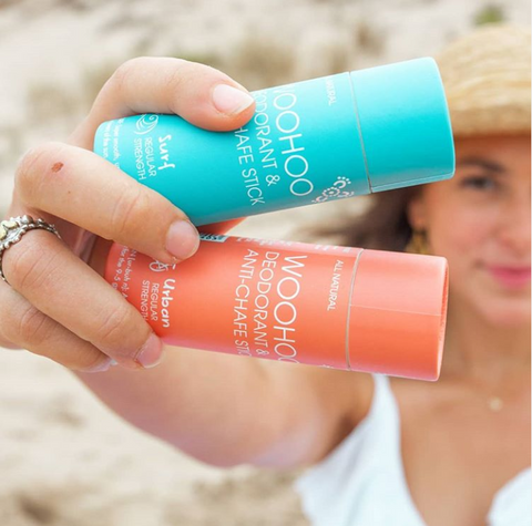 Woohoo Vegan and Zero Waste Deodorants