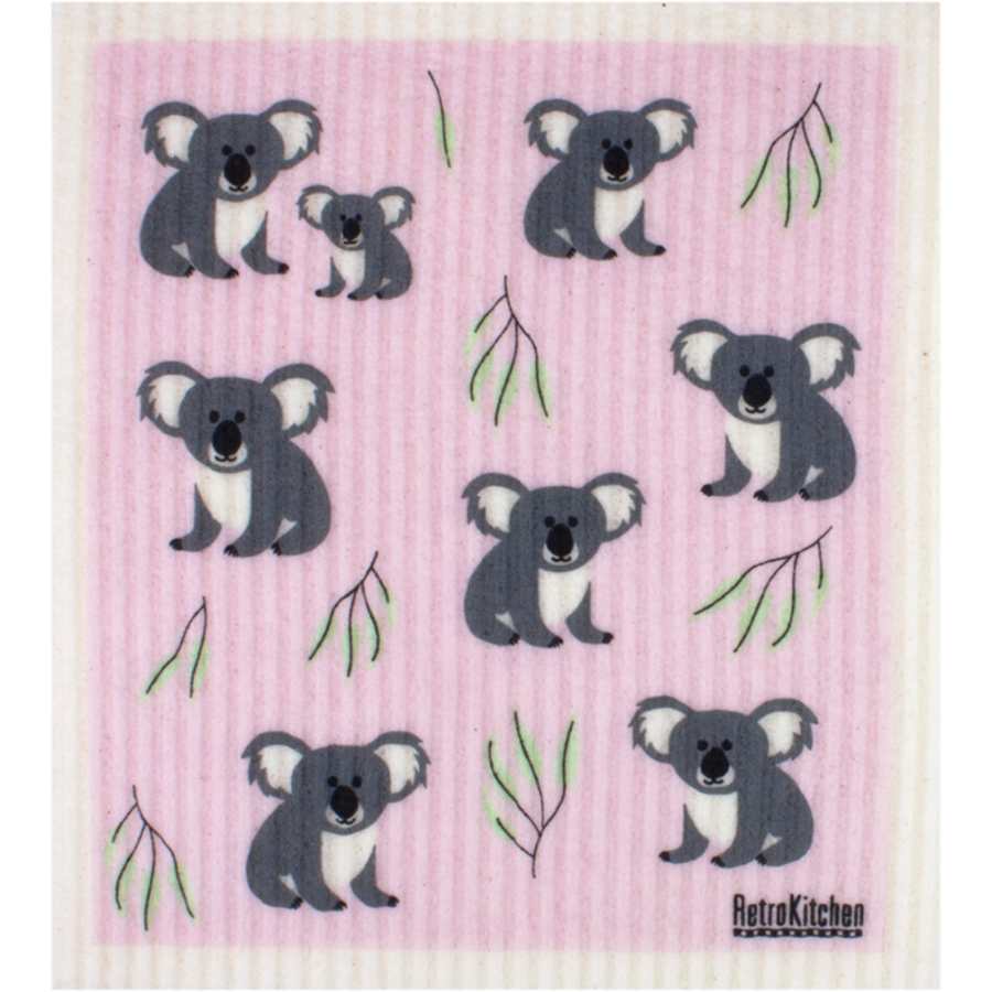 RetroKitchen - Cellulose Dishcloth (Koala)