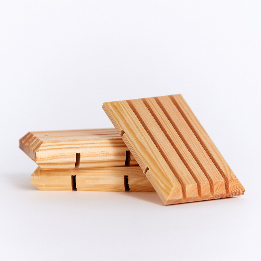 Go for Zero - Reclaimed Wooden Soap Holder