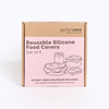 Go for Zero - Reusable Silicone Food Covers (Set of 6)