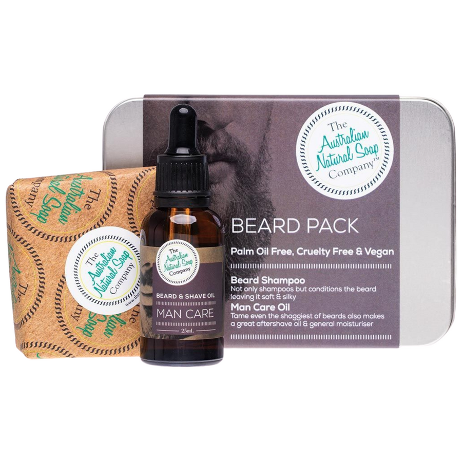 The Australian Natural Soap Company - Beard Pack