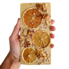 Maple & Sage - Lemon Macadamia Chocolate Slab (150g)