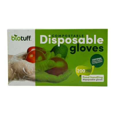 Go-For-Zero-Australia-BioTuff-Compostable-Disposable-Gloves-Medium-Pack-of-200