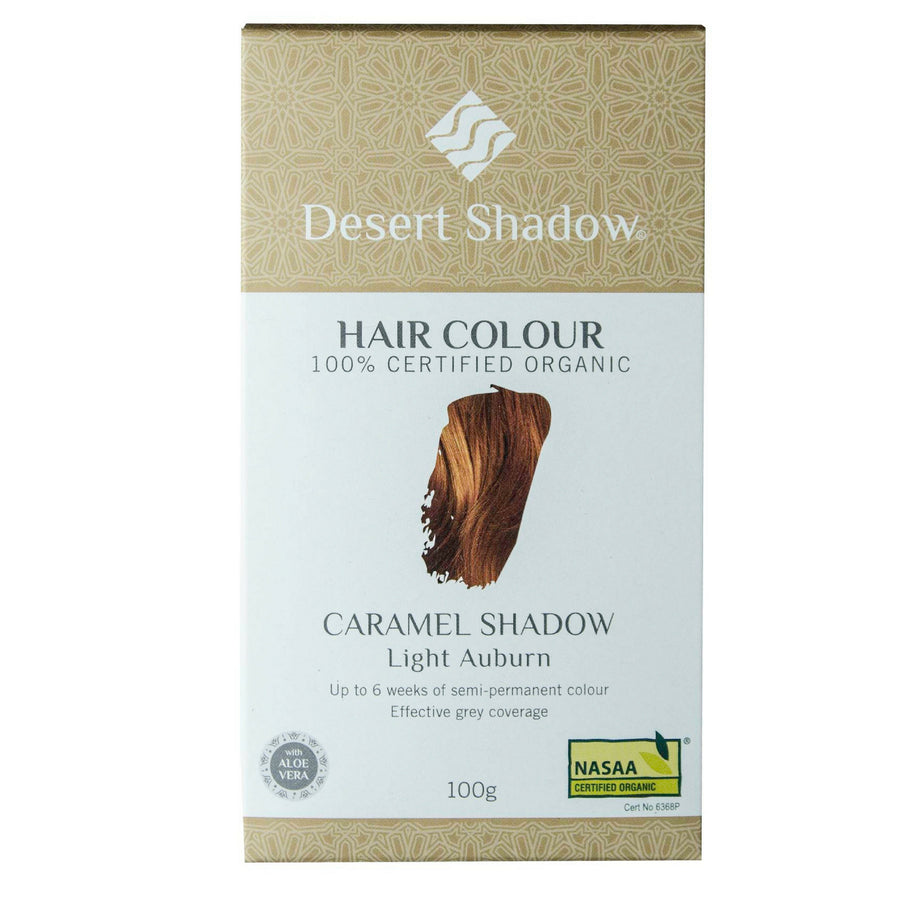 Desert Shadow Organic Hair Dye - Caramel Shadow (100 g)