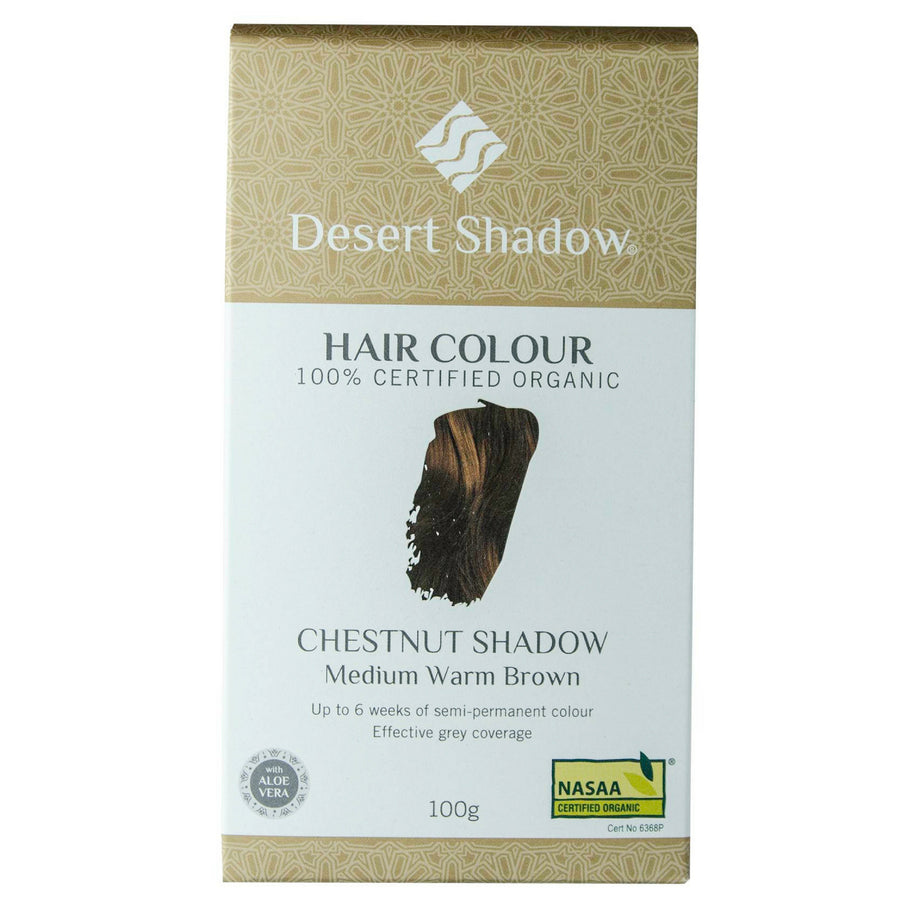 Desert Shadow Organic Hair Dye - Chestnut Shadow (100 g)