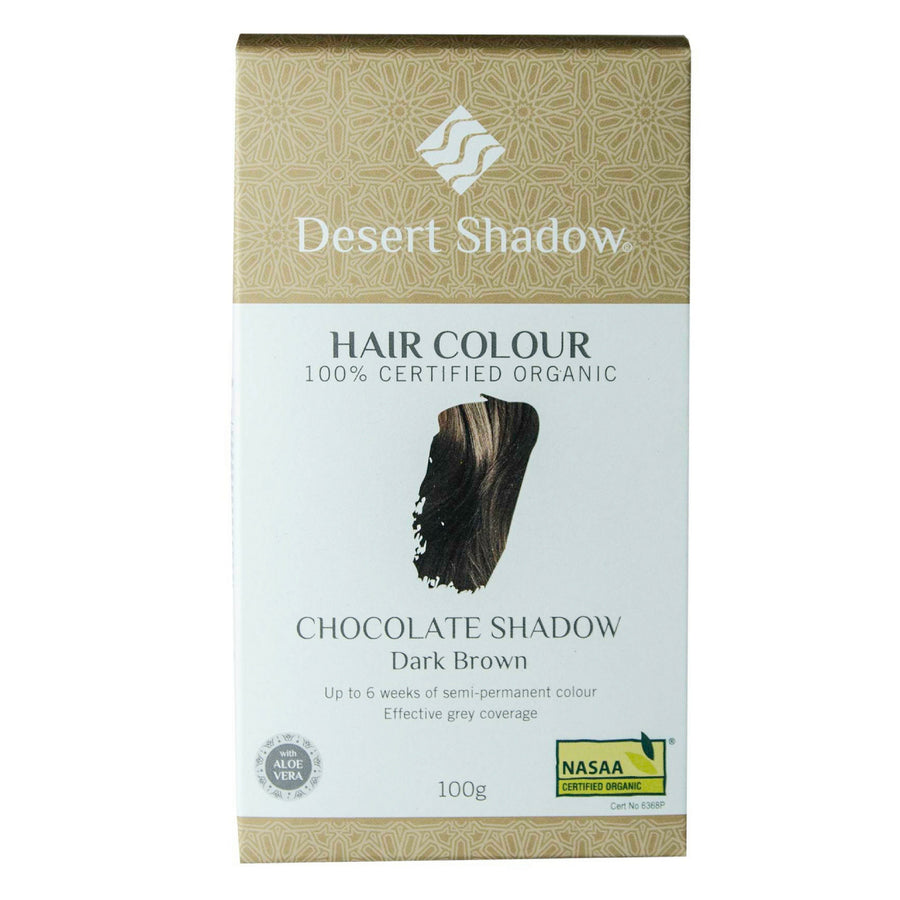 Desert Shadow Organic Hair Dye - Chocolate Shadow (100 g)