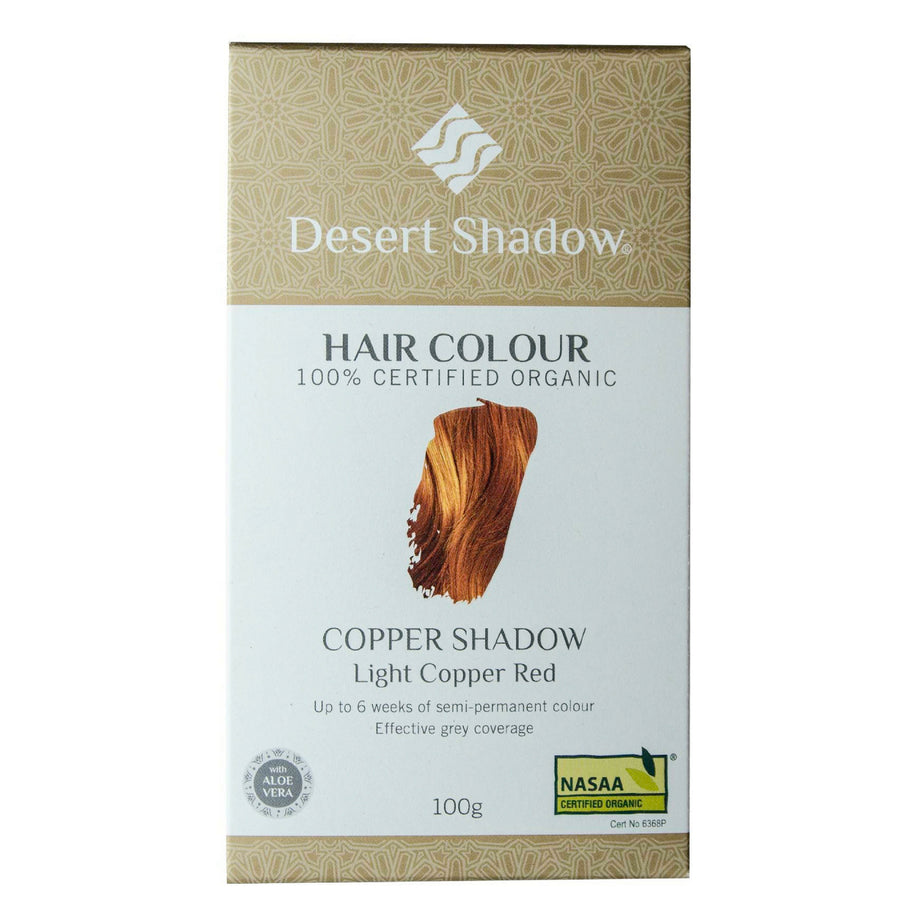 Desert Shadow Organic Hair Dye - Copper Shadow (100 g)