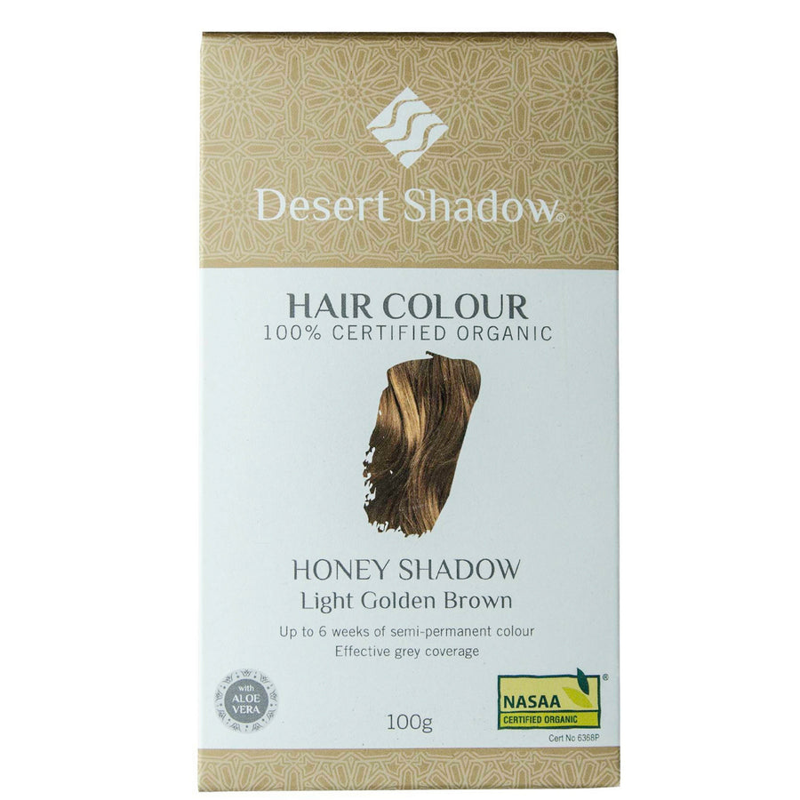 Desert Shadow Organic Hair Dye - Honey Shadow (100 g)
