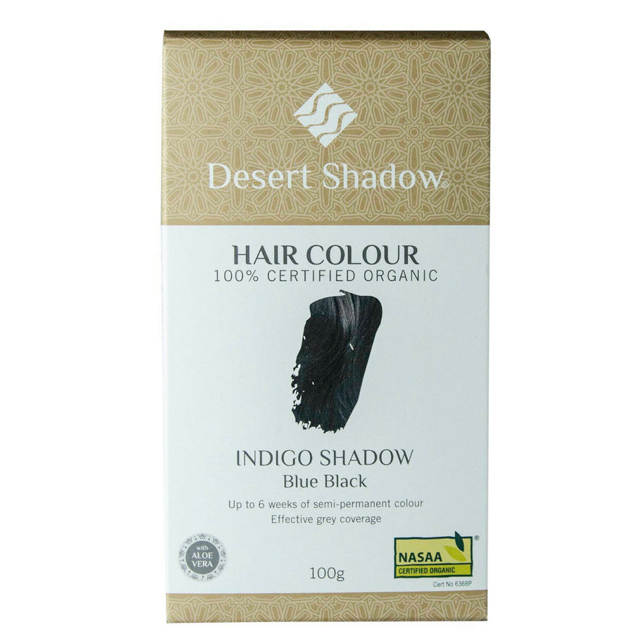 Desert Shadow Organic Hair Dye - Indigo Shadow (100 g)
