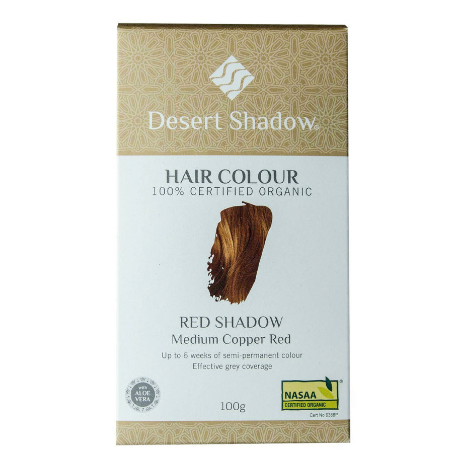 Desert Shadow Organic Hair Dye - Red Shadow (100 g)