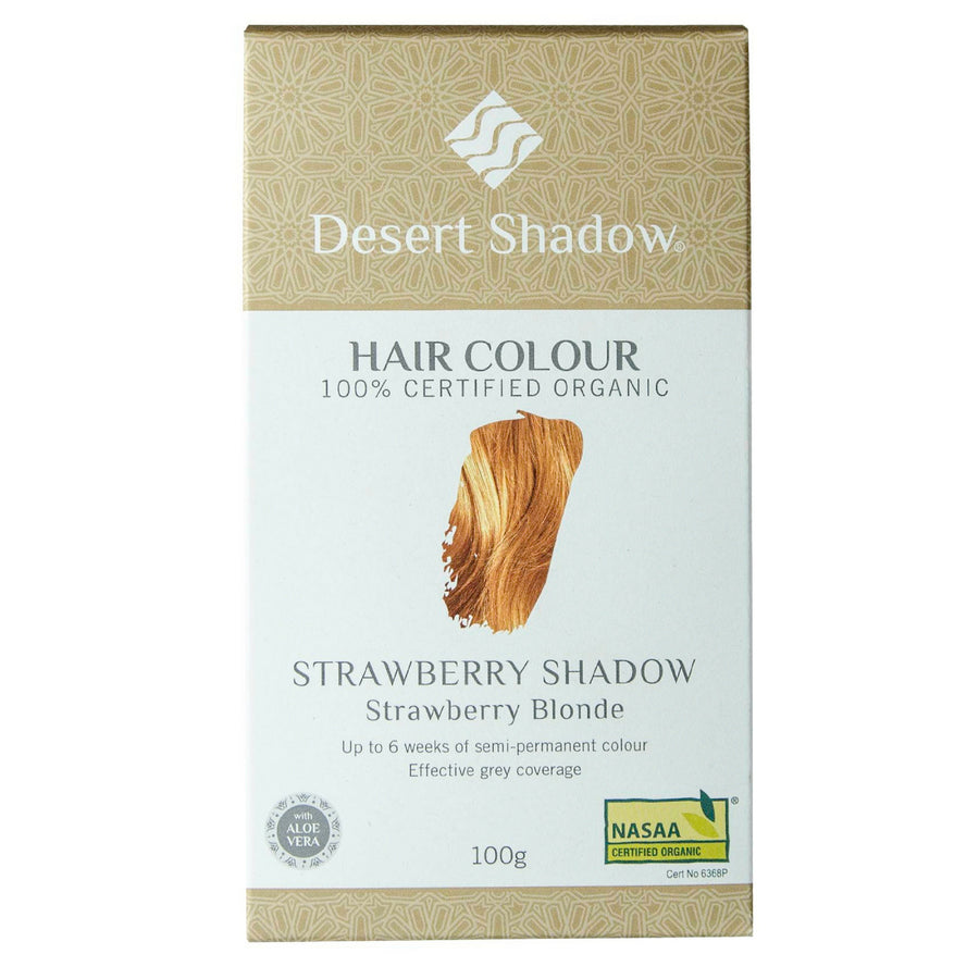 Desert Shadow Organic Hair Dye - Strawberry Shadow (100 g)